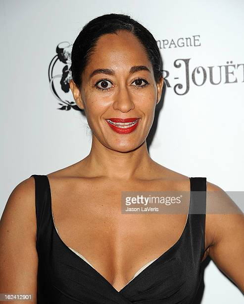 Actress Tracee Ellis Ross attends the 6th annual Women In Film pre-Oscar cocktail party at Fig & Olive Melrose Place on February 22, 2013 in West...