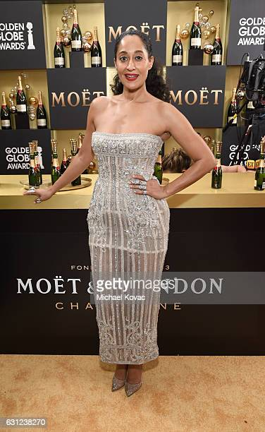 Actress Tracee Ellis Ross attends the 74th Annual Golden Globe Awards at The Beverly Hilton Hotel on January 8, 2017 in Beverly Hills, California.