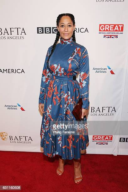 Actress Tracee Ellis Ross attends The BAFTA Tea Party at Four Seasons Hotel Los Angeles at Beverly Hills on January 7 2017 in Los Angeles California