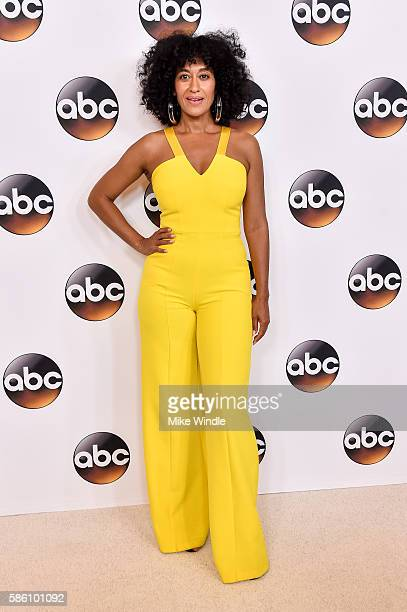 Actress Tracee Ellis Ross attends the Disney ABC Television Group TCA Summer Press Tour on August 4 2016 in Beverly Hills California