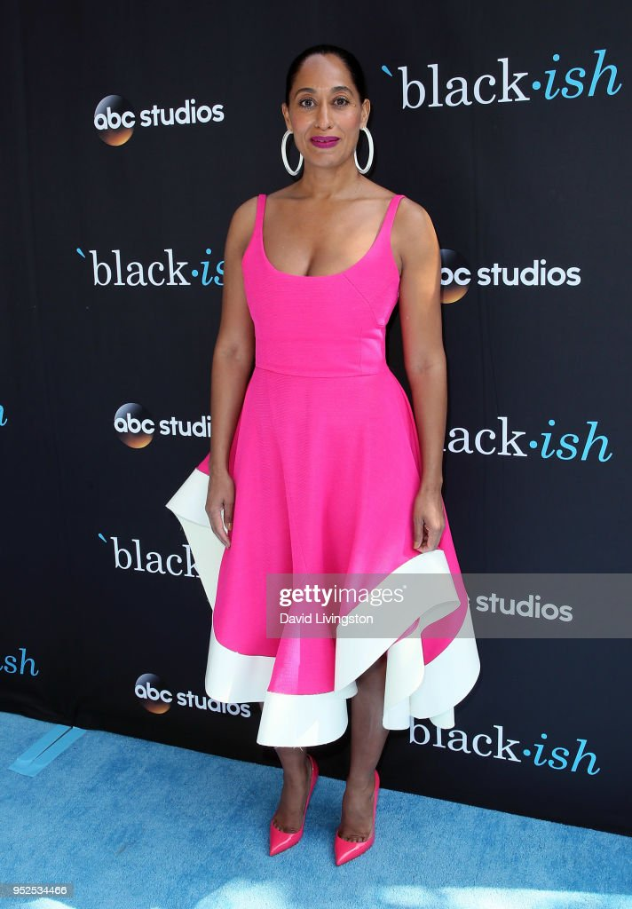 Actress Tracee Ellis Ross attends the FYC event for ABC's 'Blackish' at Walt Disney Studios on April 28, 2018 in Burbank, California.
