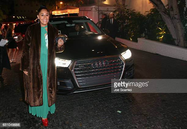 Actress Tracee Ellis Ross attends W Magazine's Best Performances Party at Chateau Marmont on January 5 2017 in Los Angeles California