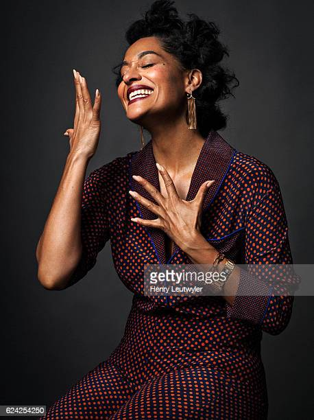 Actress Tracee Ellis Ross is photographed for Marie Claire Magazine on June 4 2016 in New York City