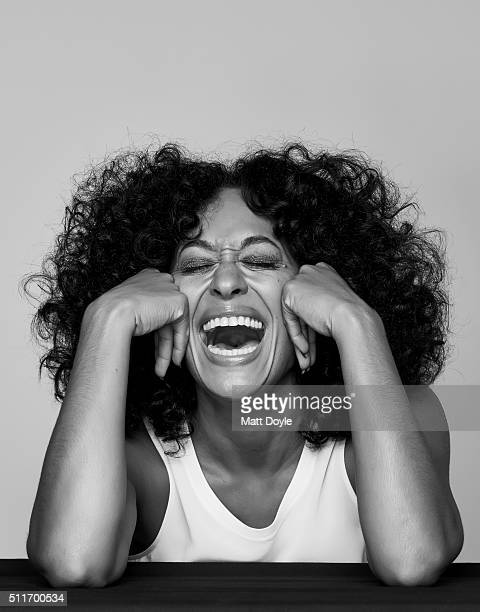 Actress Tracee Ellis Ross photographed for Back Stage on September 8 in New York City