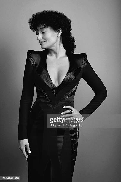 Actress Tracee Ellis Ross poses for a portrait during the 47th NAACP Image Awards presented by TV One at Pasadena Civic Auditorium on February 5 2016...