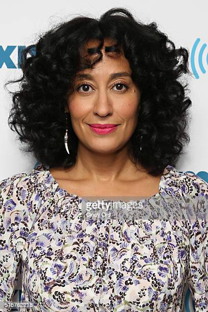 Actress Tracee Ellis Ross visits the SiriusXM Studios on March 15 2016 in New York City