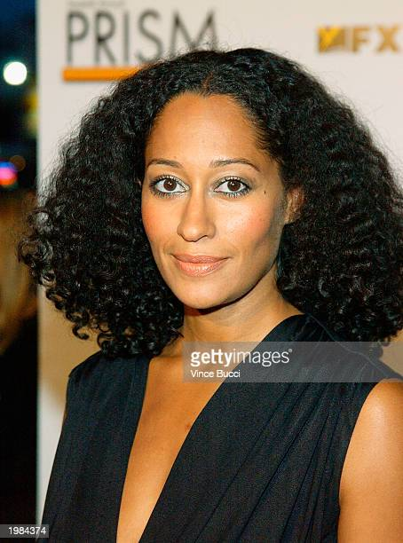 Actress Tracee Ross poses backstage at the 7th Annual Prism Awards held at the Henry Fonda Music Box Theatre on May 8 2003 in Hollywood California