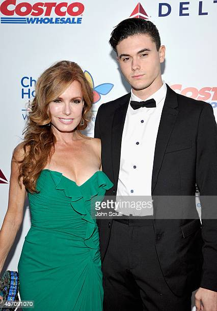 Actress Tracey Bregman and Landon Recht attend the Children's Hospital Los Angeles' Gala Noche De Ninos at LA Live on October 11 2014 in Los Angeles...