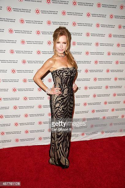 Actress Tracey Bregman attends American Friends Of Magen David Adom's Red Star Ball at The Beverly Hilton Hotel on October 23 2014 in Beverly Hills...