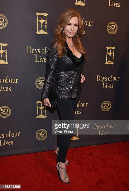 Actress Tracey Bregman attends the Days Of Our Lives' 50th Anniversary Celebration at Hollywood Palladium on November 7 2015 in Los Angeles California