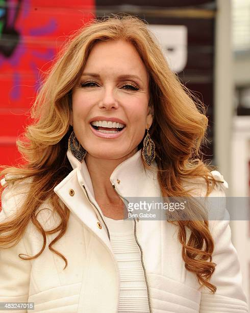 Actress Tracey Bregman attends the 'Ride Of Fame New York ceremony at Pier 78 on April 7 2014 in New York City