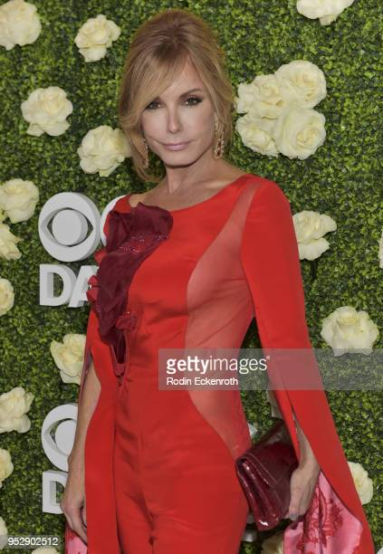 Actress Tracey E Bergman attends the CBS Daytime Emmy After Party at Pasadena Convention Center on April 29 2018 in Pasadena California