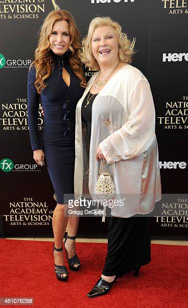 Actress Tracey E Bregman arrives at the 41st Annual Daytime Emmy Awards at The Beverly Hilton Hotel on June 22 2014 in Beverly Hills California