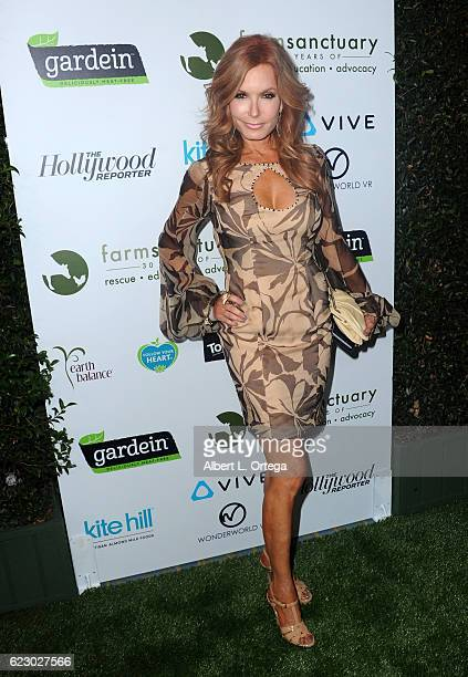Actress Tracey E Bregman arrives for Farm Sanctuary's 30th Anniversary Gala held at the Beverly Wilshire Four Seasons Hotel on November 12 2016 in...