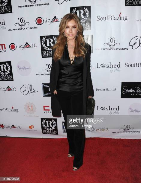 Actress Tracey E Bregman arrives for the 4th Annual Roman Media PreOscars Hollywood Event Championing Women And Diversity In Film held at Paloma on...