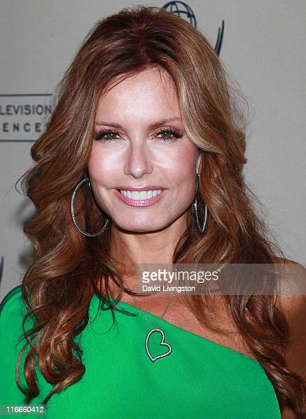 Actress Tracey E Bregman attends the 2011 Daytime Emmy Awards nominees cocktail reception at SLS Hotel Beverly Hills on June 16 2011 in Beverly Hills...