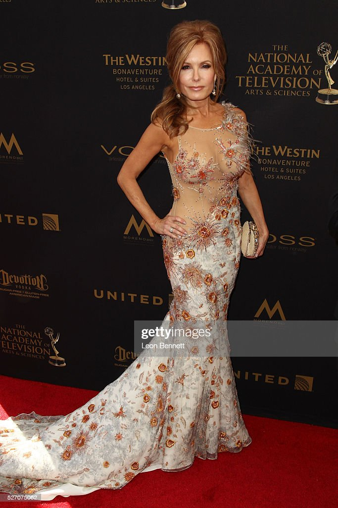 Actress Tracey E. Bregman attends the 2016 Daytime Emmy Awards - Arrivals at Westin Bonaventure Hotel on May 1, 2016 in Los Angeles, California.