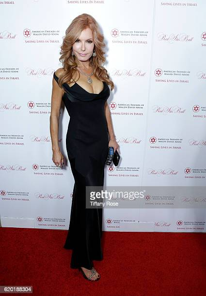 Actress Tracey E Bregman attends the American Friends Of Magen David Adom's Red Star Ball at The Beverly Hilton Hotel on November 1 2016 in Beverly...