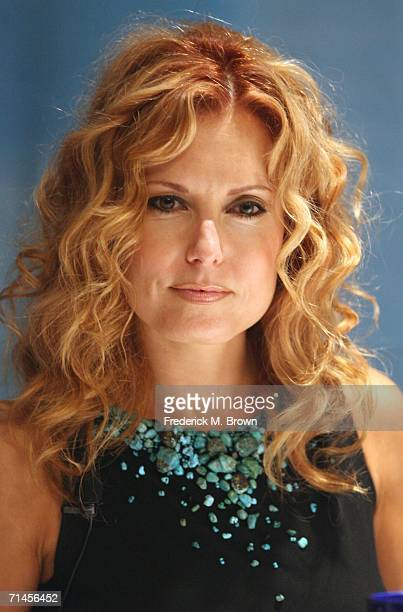 Actress Tracey E Bregman of the television show The Young and the Restless attends the 2006 Summer Television Critics Association Press Tour for the...