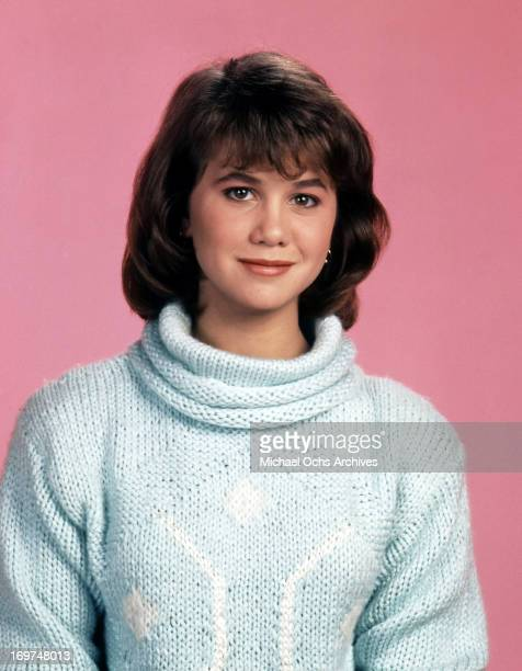 Actress Tracey Gold poses for a portrait in circa 1985