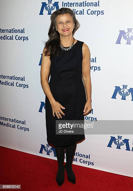 Actress Tracey Ullman arrives at The International Medical Corps Annual Awards Celebration at the Beverly Wilshire Four Seasons Hotel on November 30...