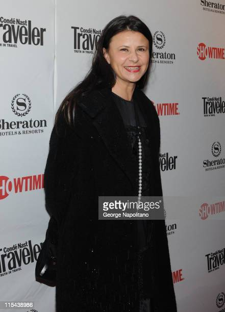 Actress Tracey Ullman arrives at the Showtime and Sheraton Hotels Host premiere of The Tudors Season 2 on March 19 2008 in New York City