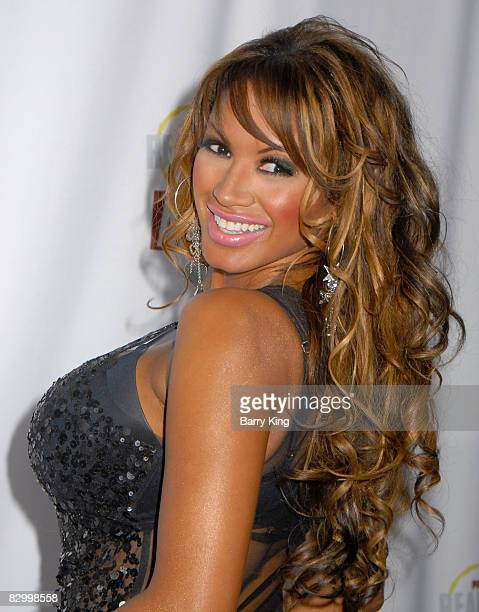 Actress Traci Bingham arrives at the Fox Reality Channel's Really Awards held at Avalon Hollywood on September 24 2008 in Hollywood California