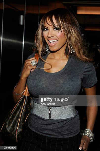 """Actress Traci Bingham attends the """"Baywatch"""" Reunion Dinner at XIV Restaurant on August 19, 2010 in Los Angeles, California."""