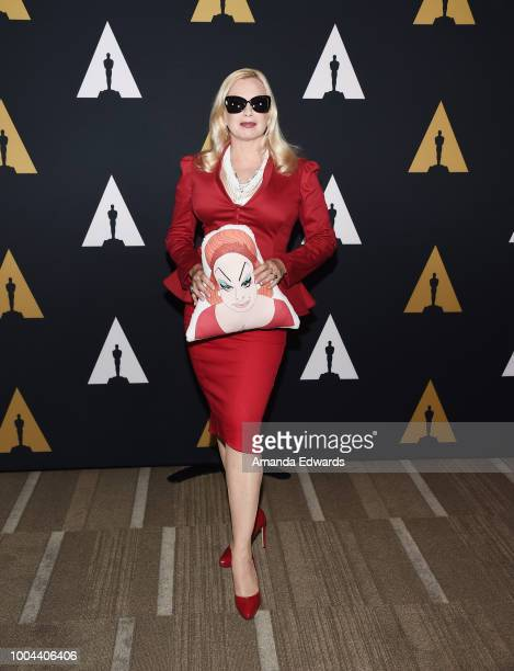 Actress Traci Lords arrives at The Academy Presents 'Hairspray' 30th Anniversary at the Samuel Goldwyn Theater on July 23 2018 in Beverly Hills...