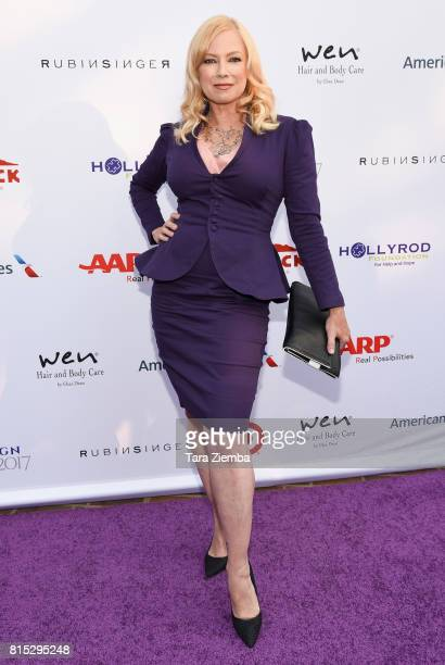 Actress Traci Lords attends HollyRod Foundation's DesignCare Gala at Private Residence on July 15 2017 in Pacific Palisades California