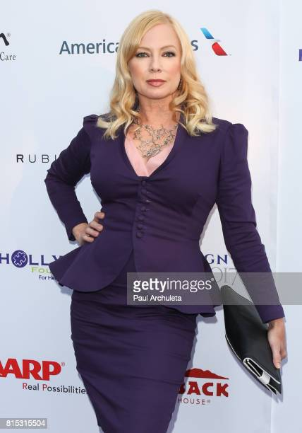 Actress Traci Lords attends the 19th Annual DesignCare 2017 at a private residence on July 15 2017 in Pacific Palisades California