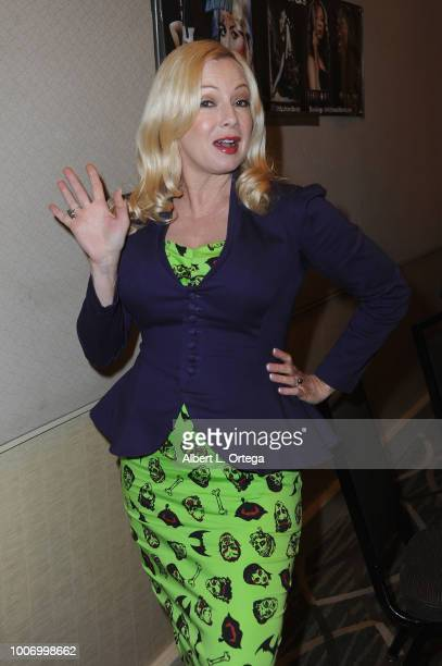 Actress Traci Lords attends The Hollywood Show held at The Westin Hotel LAX on July 28 2018 in Los Angeles California