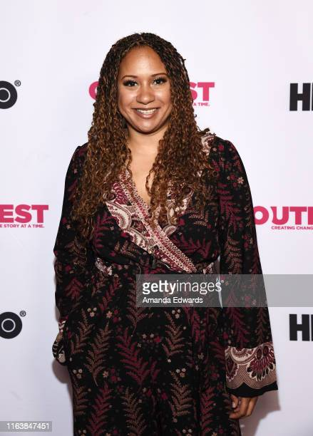 Actress Tracie Thoms arrives at the 2019 Outfest Los Angeles LGBTQ Film Festival Breakthrough Centerpiece Screening of Straight Up at the TCL Chinese...