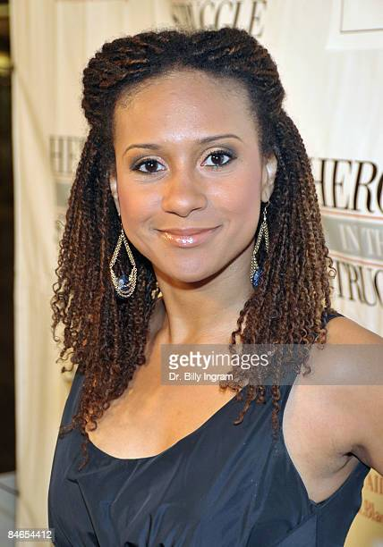 Actress Tracie Thoms arrives at the 8th Annual Heroes In The Struggle Gala at the Walt Disney Concert Hall on February 4 2009 in Los Angeles...