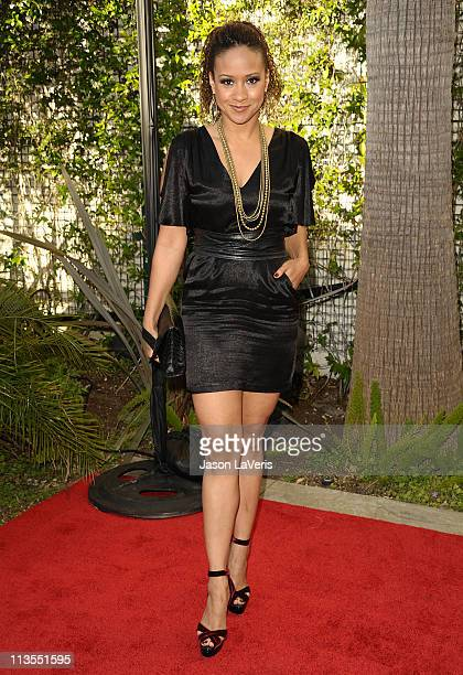 """Actress Tracie Thoms attends Geffen Playhouse's annual fundraiser """"Backstage at the Geffen"""" at Geffen Playhouse on May 2, 2011 in Los Angeles,..."""