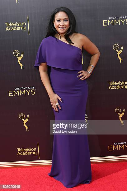 Actress Tracie Thoms attends the 2016 Creative Arts Emmy Awards Day 2 at the Microsoft Theater on September 11 2016 in Los Angeles California