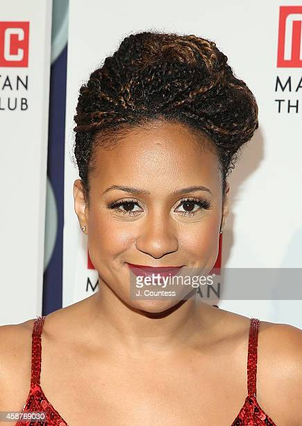 Actress Tracie Thoms attends the Manhattan Theatre Club 2014 Fall Benefit at Frederick P Rose Hall Jazz at Lincoln Center on November 10 2014 in New...