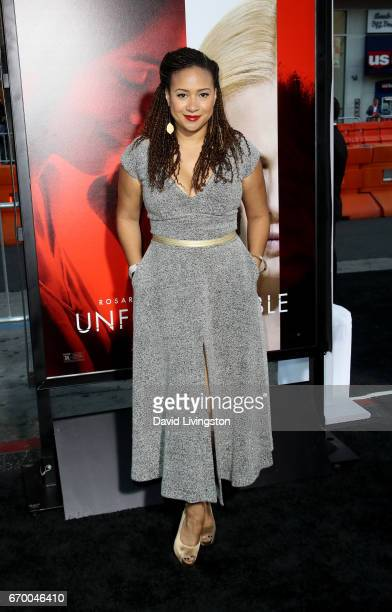 Actress Tracie Thoms attends the premiere of Warner Bros Pictures' 'Unforgettable' at TCL Chinese Theatre on April 18 2017 in Hollywood California