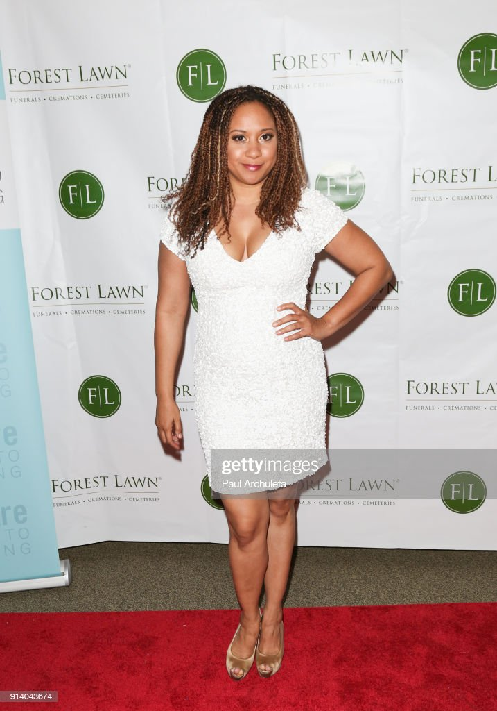 Actress Tracie Thoms attends the Witness: The John Edgar Wideman Experience at Forest Lawn Memorial Park on February 3, 2018 in Los Angeles, California.