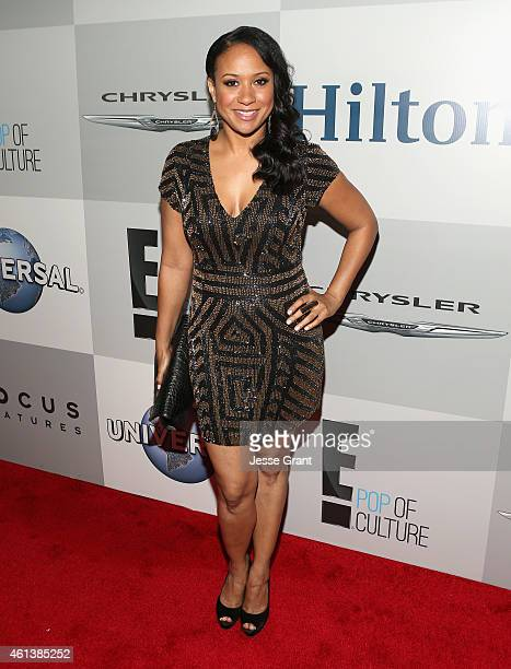 Actress Tracie Thoms attends Universal NBC Focus Features and E Entertainment 2015 Golden Globe Awards After Party sponsored by Chrysler and Hilton...