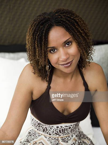 Actress Tracie Thoms is photographed at the Cannes Film Festival