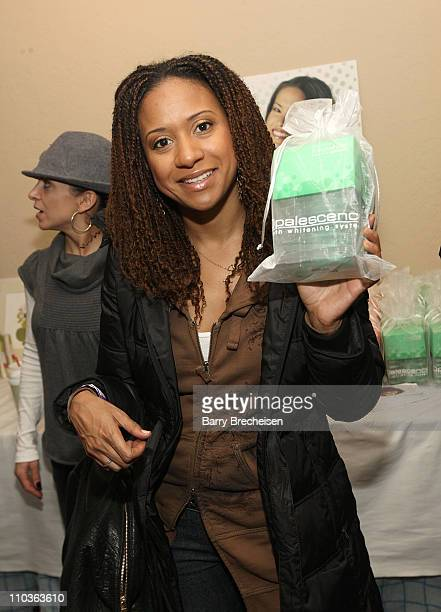 Actress Tracie Thoms visits the Kari Feinstein Sundance Style Lounge on January 19 2009 in Park City Utah