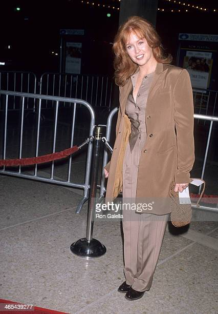 Actress Tracy Griffith attends the One True Thing Century City Premiere on September 16 1998 at the Cineplex Odeon Century Plaza Cinemas in Century...