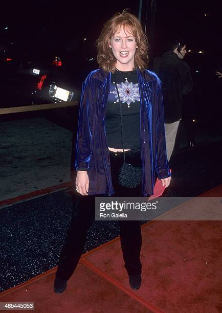Actress Tracy Griffith attends the Play It to the Bone Hollywood Premiere on January 10 2000 at the El Capitan Theatre in Hollywood California