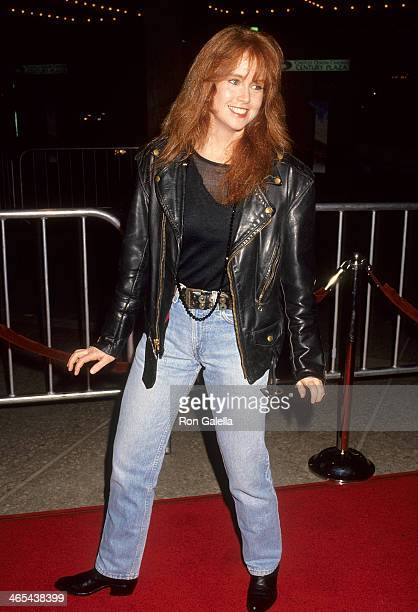 Actress Tracy Griffith attends the Radio Flyer Century City Premiere on February 20 1992 at the Cineplex Odeon Century Plaza Cinemas in Century City...