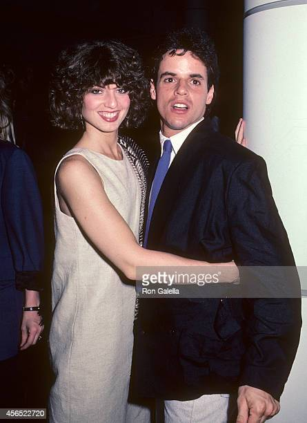 Actress Tracy Kolis and actor Christian LeBlanc attend the party to celebrate Eileen Fulton's return to As the World Turns on August 10 1984 at...