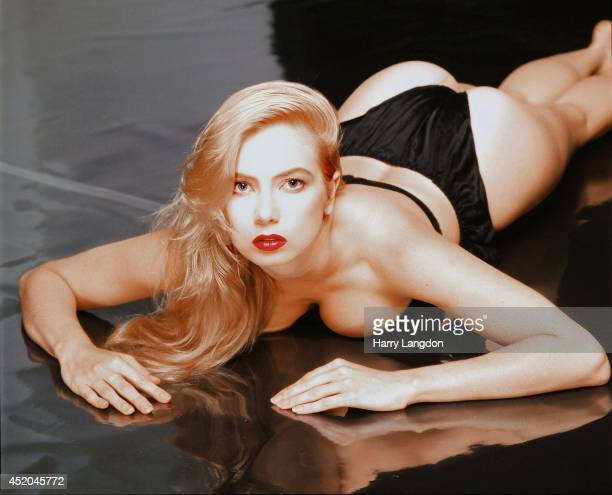 Actress Tracy Lords poses for a portrait in 1991 in Los Angeles California