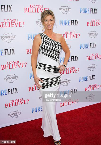 Actress Tracy Melchior attends the 'Do You Believe' premiere at ArcLight Hollywood on March 16 2015 in Hollywood California