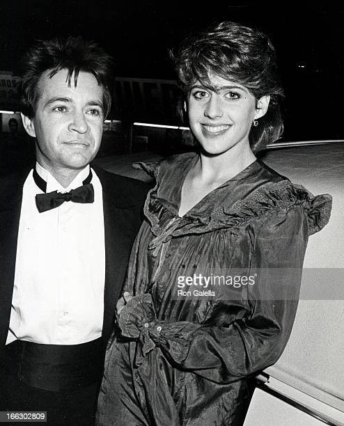 Actress Tracy Nelson and disc jockey Rodney Bingenheimer attending First Annual American Video Awards on April 6 1983 at the Beverly Theater in...