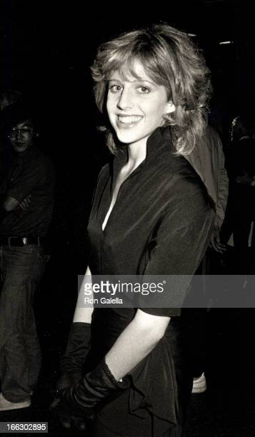 Actress Tracy Nelson attending the screening of The Love Boat Goes to China on September 25 1983 at Mann Chinese Theater in Hollywood California